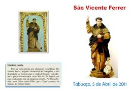 Deus de misericórdia, que chamastes o presbítero São Vicente