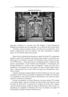 apresenta, evidencia-se o encontro com São Joaquim, à Porta