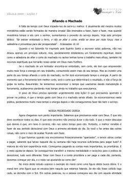 reuniao caseira - Devocional 2 - Ministério Restauração e Vida