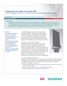Faster CAE Model Preparation in NX