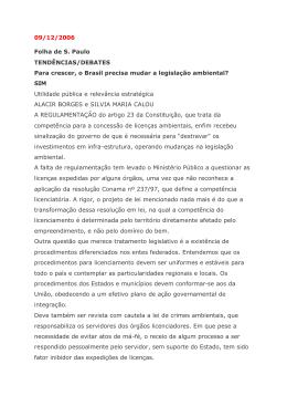 Folha de São Paulo entrevista Silvia e Alacir 09-12-06