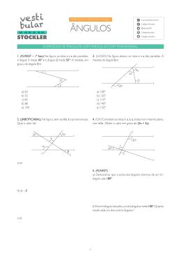 baixando os exercícios em PDF - Vestibular