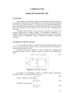 Capítulo 8 - Engenharia Elétrica da UFPR