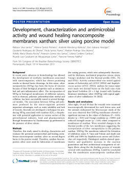Development, characterization and antimicrobial