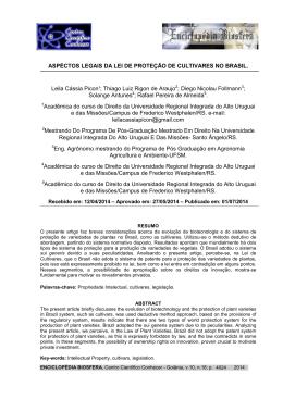aspectos legais - Centro Científico Conhecer