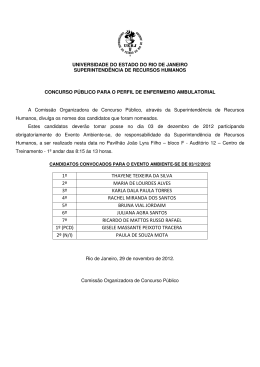 1º THAYENE TEIXEIRA DA SILVA 2º MARIA DE LOURDES ALVES