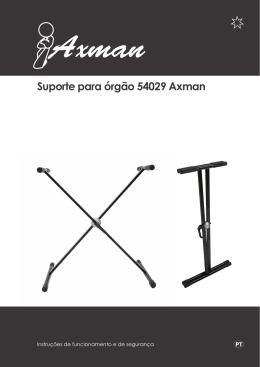 Suporte para órgão 54029 Axman