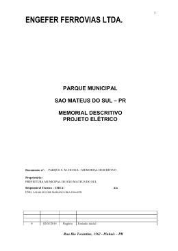 Anexo II - Prefeitura Municipal de São Mateus do Sul