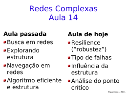 Redes Complexas Aula 14