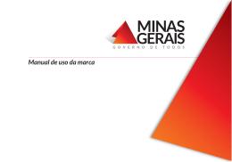 Manual de uso da marca - Minas Olímpica Incentivo ao Esporte