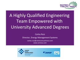 A Highly Qualified Engineering Team Empowered with