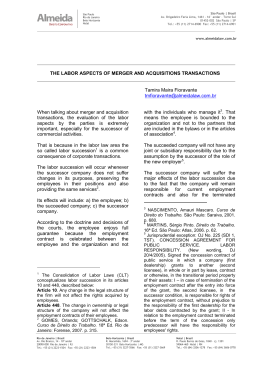 news_labor aspects of M&A transactionsx
