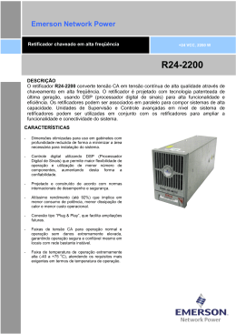 R24-2200 - Emerson Network Power