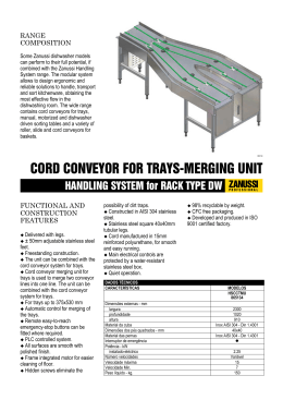 HANDLING SYSTEM for RACK TYPE DW