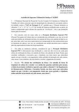 Acórdão do Supremo Tribunal de Justiça n14 2015