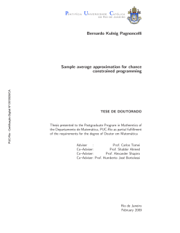 Bernardo Kulnig Pagnoncelli Sample average