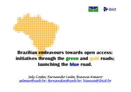 RICAA Rede Brasileira de Informação Científica de Acesso