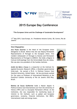 2015 Europe Day Conference