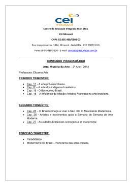 Centro de Educação Integrada Mais Ltda. CEI Mirassol CNPJ