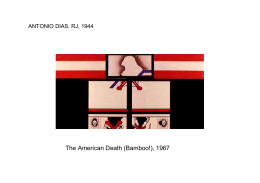 The American Death (Bamboo!), 1967