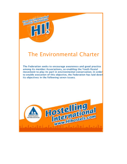 The Environmental Charter
