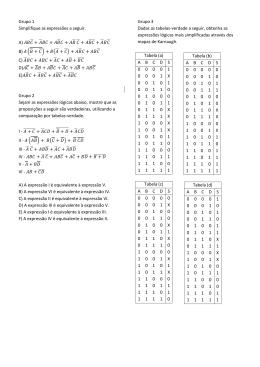Grupo 1 Simplifique as expressões a seguir. A) + + +