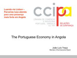 The Portuguese Economy in Angola