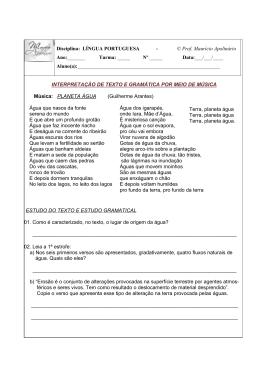 Disciplina: LÍNGUA PORTUGUESA - © Prof. Maurício Apolinário