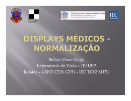Displays Médicos