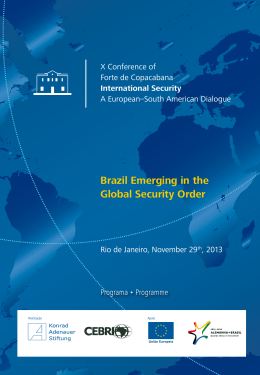 Brazil Emerging in the Global Security Order - Konrad
