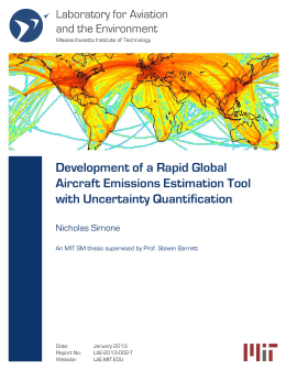 Development of a Rapid Global Aircraft Emissions Estimation Tool