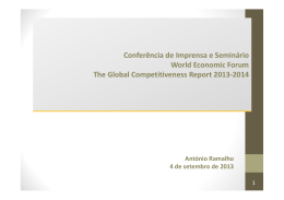 wef – global competitiveness report