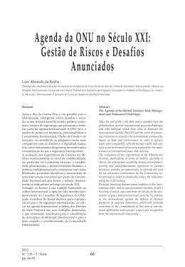 Resumo/Abstract - Instituto da Defesa Nacional