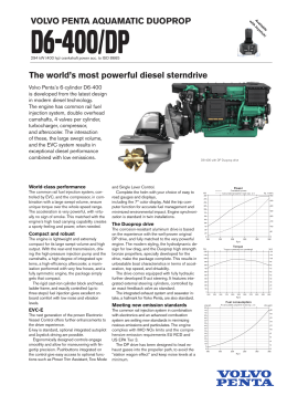 The world`s most powerful diesel sterndrive