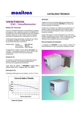 Catálogo técnico de VENTIBOX