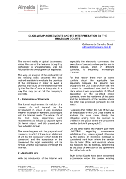 click-wrap agreements and its interpretation by the brazilian courts