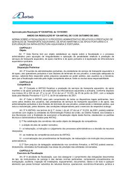 Norma da Resolução - 124