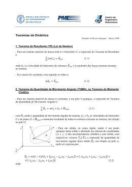 Teoremas da Dinâmica