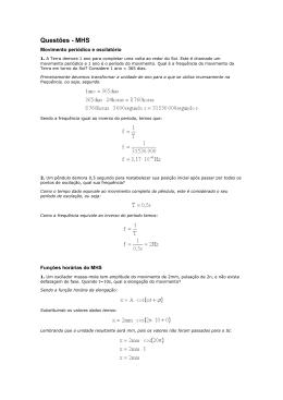 Questões MHS-Oscilações (341070)