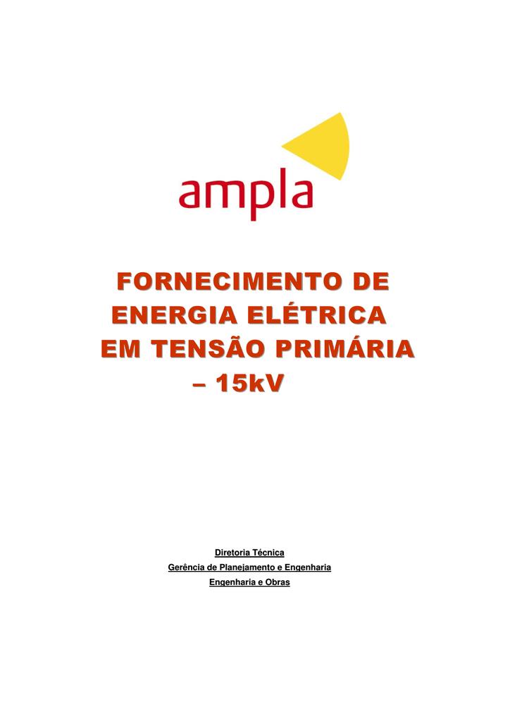 51ae737138446 FORNECIMENTO DE ENERGIA ELÉTRICA EM
