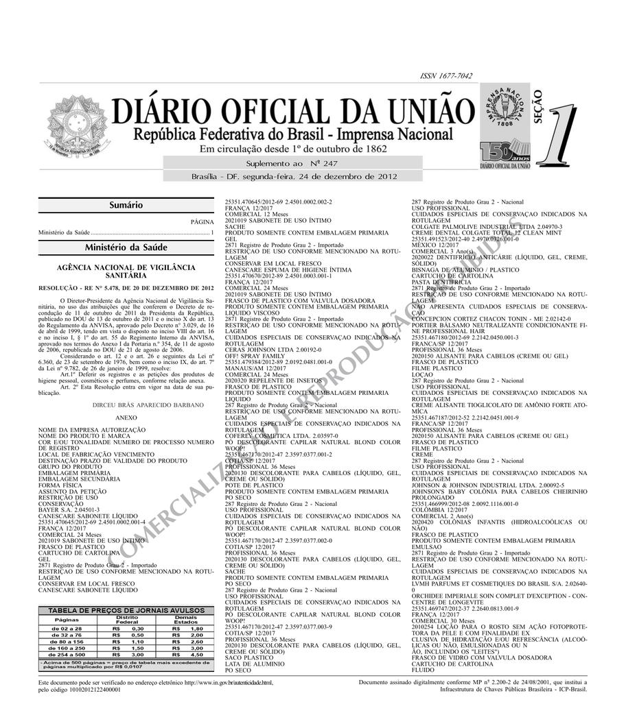 1ddf2ed15 COMERCIALIZAÇÃO E REPRODUÇÃO PROIBIDAS
