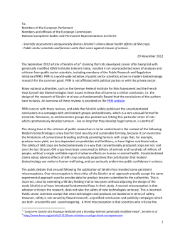 letter - PRRI - Public Research & Regulation Initiative