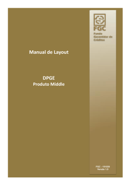 Manual de leiaute