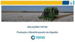 Apresentação do PowerPoint - 10º Congresso Brasileiro do Algodão