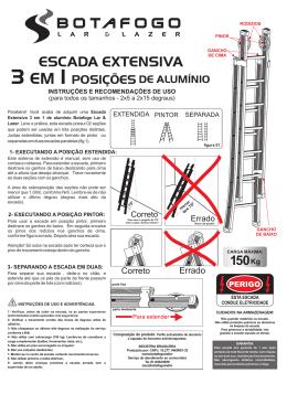 manual escada extensiva