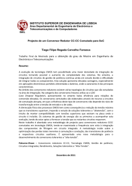 INSTITUTO SUPERIOR DE ENGENHARIA DE LISBOA Tiago Filipe