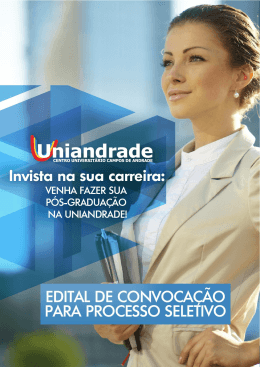 Edital - Uniandrade