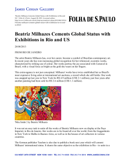 Beatriz Milhazes Cements Global Status with Exhibitions in Rio and