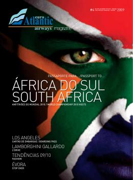 ÁFRICA DO SUL SOUTH AFRICA