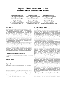 Impact of Peer Incentives on the Dissemination of Polluted Content